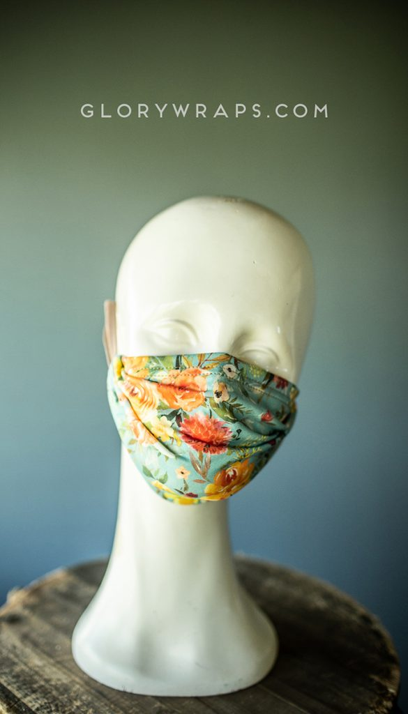 made in the USA  Fashion Face Masks for men, women, and childen