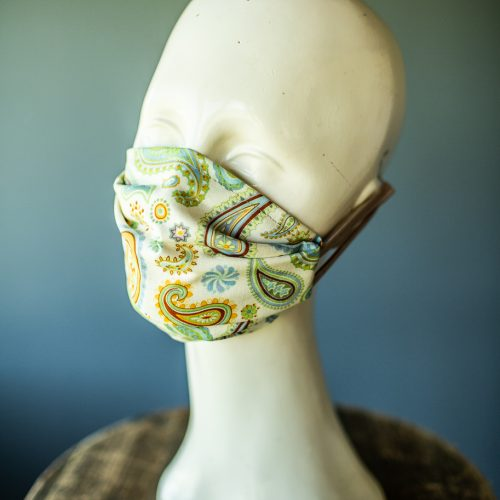 earloop paisley face mask