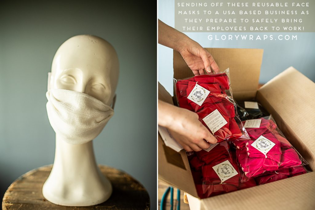 Work Place Reusable Face Masks Made in USA