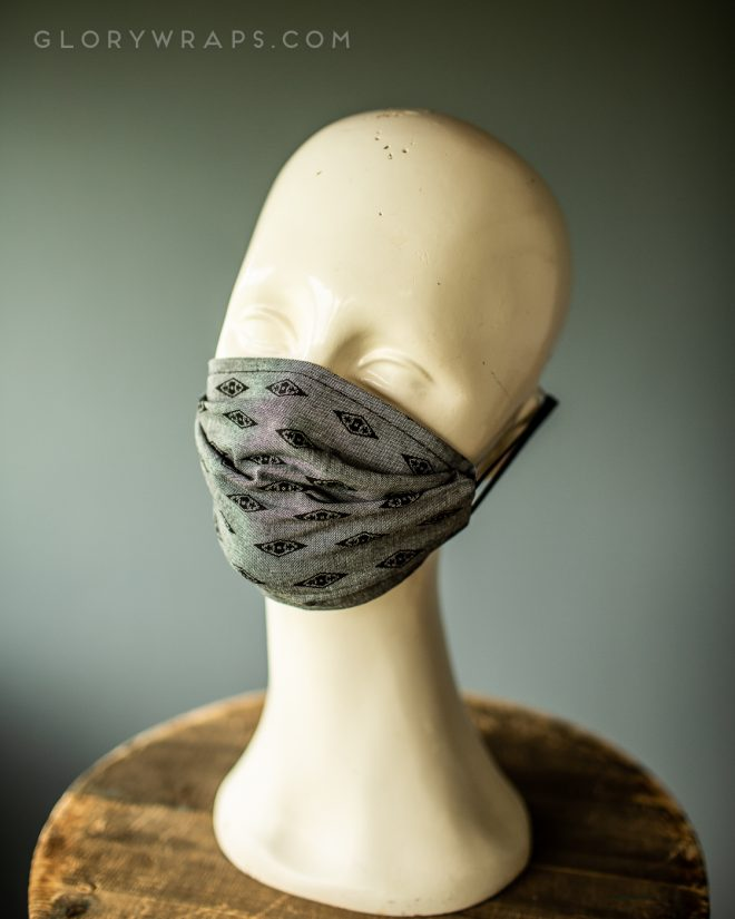 Reusable fashion face masks made in the usa for sale