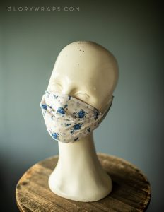 Made in the USA Floral Face Covering