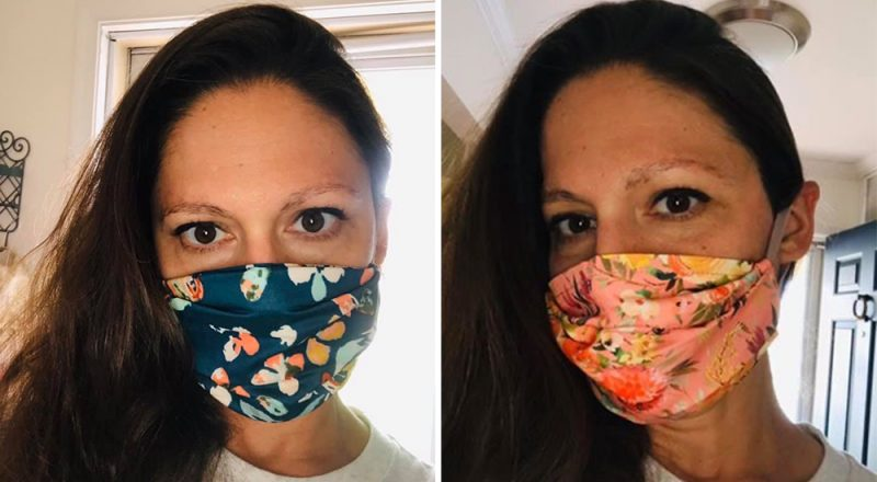 Customer Review Glory Wraps Face Masks
