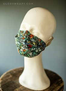 Made in USA Rifle Paper Co FLoral Face Mask